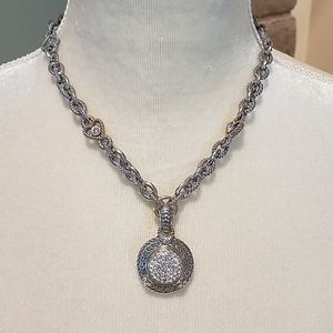 "*Silver Necklace, 16"" w/2"" extender"